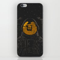 dark side of the moon iPhone & iPod Skins featuring Dark side of the moon by Rodrigo Ferreira