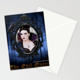The EvilQueen Poster Stationery Cards