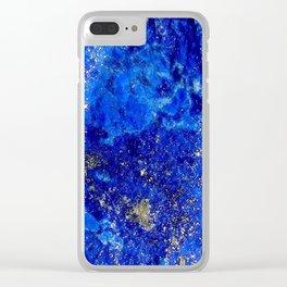 Lapis Dreams Clear iPhone Case