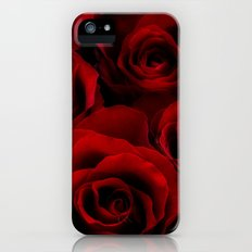 Red Roses Slim Case iPhone (5, 5s)