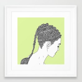 Know the Way Framed Art Print