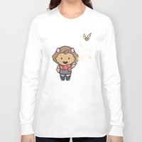 gryffindor Long Sleeve T-shirts featuring Gryffindor by Kiell R.