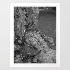 Treemonster II Art Print