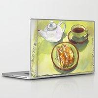 breakfast Laptop & iPad Skins featuring Breakfast by Roisin