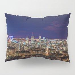 Montreal Nightlights Pillow Sham