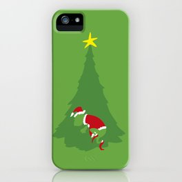 WHEN THE GRINCH COMES iPhone Case