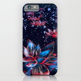 Space Lilys iPhone Case