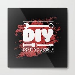 Do It Yourself Metal Print