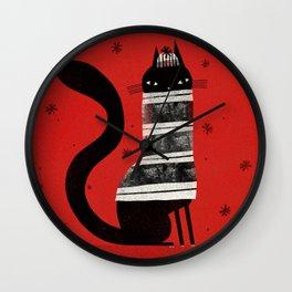 BUNDLE UP Wall Clock