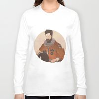 mandela Long Sleeve T-shirts featuring Western Mandela by Lazy Trope
