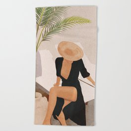 That Summer Feeling I Beach Towel