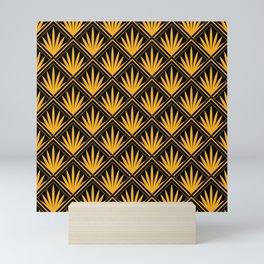 Scandalous Flirtations! 24-Karat Gold Art Deco Pattern Mini Art Print