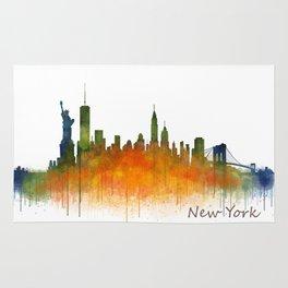 New York City Skyline Hq V02 Rug