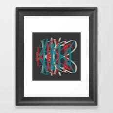 It's Not BLK Framed Art Print