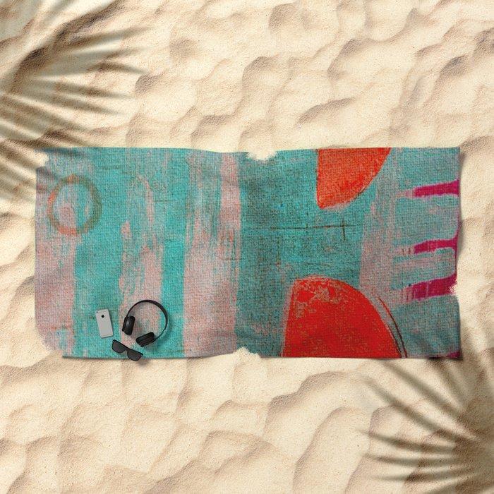 Peixe Rabo de Pente Beach Towel