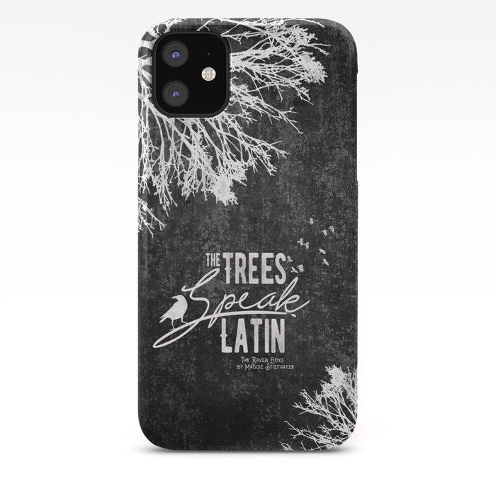 The Trees Speak Latin - Raven Boys iPhone Case