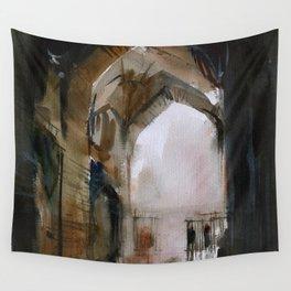 Under the Ali Qapu palace Wall Tapestry
