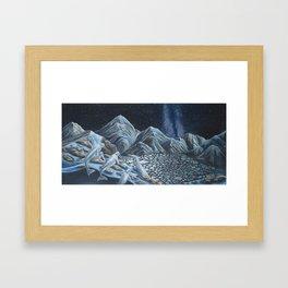 Mountain Belugas  Framed Art Print
