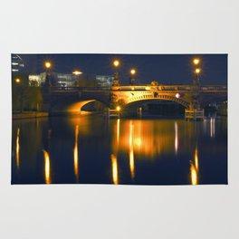 BERLIN NIGHT on the RIVER SPREE Rug