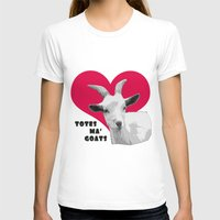 totes T-shirts featuring Totes Ma Goats - Red by BACK to THE ROOTS