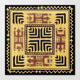 Southwest Shaman Tile Canvas Print