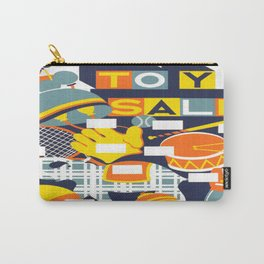 Vintage poster - Toy Sale Carry-All Pouch