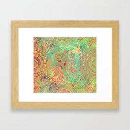 Boheme Atmosphere Framed Art Print