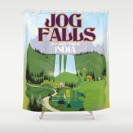 Jog Falls,Jog Falls,Sagara taluk of Karnataka Shower Curtain