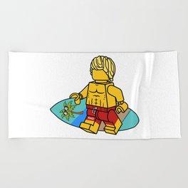 Surf's Up Beach Towel