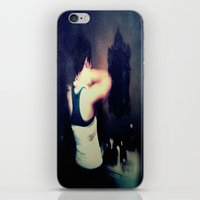 gray iPhone & iPod Skins featuring Gray by Brookita