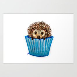 Prickle Muffin Art Print