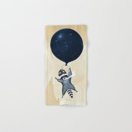 Raccoon Balloon Hand & Bath Towel
