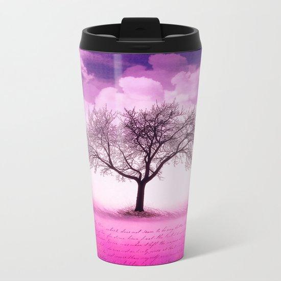 art tree Metal Travel Mug