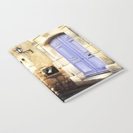 Provencal Blue Notebook