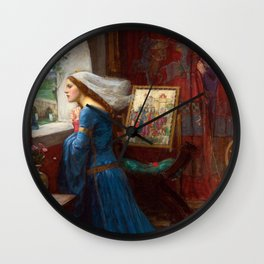 John William Waterhouse - Fair Rosamund Wall Clock