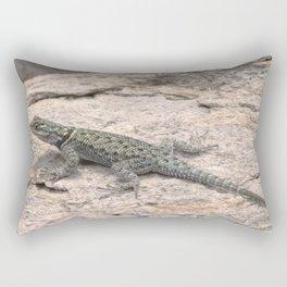 Desert Spiny Lizard, No. 2 Rectangular Pillow