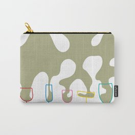 Pouring Wine white Carry-All Pouch