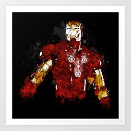 Iron Flux Art Print