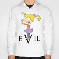 evil Hoodies featuring eVil by #MadeByTylord