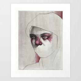 NaNoDrawMo 2012 - 18 Art Print
