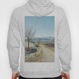 Mountains in the background Hoody