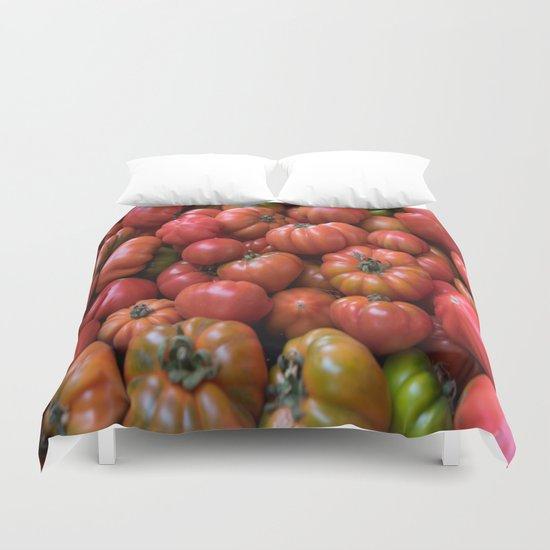 Tomato Pattern Duvet Cover