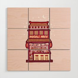 Noodle House Wood Wall Art