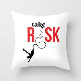 060 risk Throw Pillow