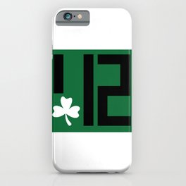 Pittsburgh St Patricks Day 412 Design iPhone Case