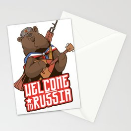 Welcome to Russia Stationery Cards