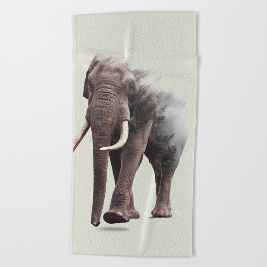 Elephantastic #society6 #decor #buyart Beach Towel