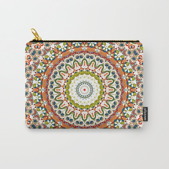 Abstract Ethnic ornament. Rustic . Carry-All Pouch