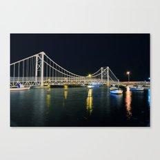 The New Bridge, Bandırma Canvas Print