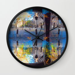 Akin to recalling, instead; understood mimicry. 18 Wall Clock